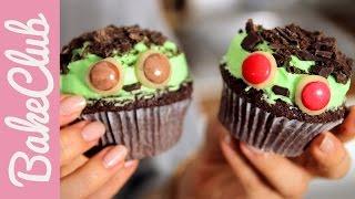 Frankenstein Cupcakes Für Halloween   Bakemyday