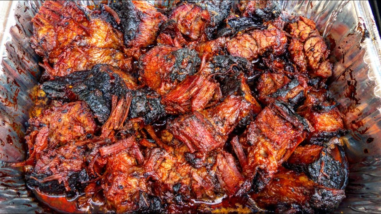 BBQ Brisket Burnt Ends | TruBBQtv - YouTube
