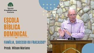 Escola Bíblica Dominical (07/06/2020) - Igreja Presbiteriana Itatiaia