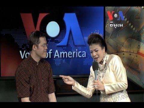 Khmer-Thai Superstar Demonstrates Her Talents at VOA  តារា​ច