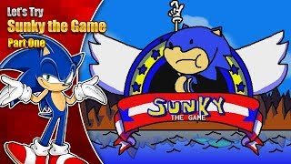 Let's Try Sunky the Game - The slowest adventure begins!