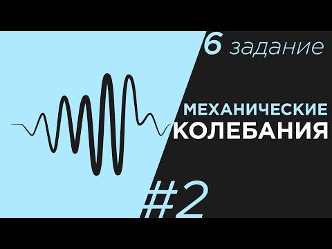 ЕГЭ Физика Механические колебания Задание 6 #2