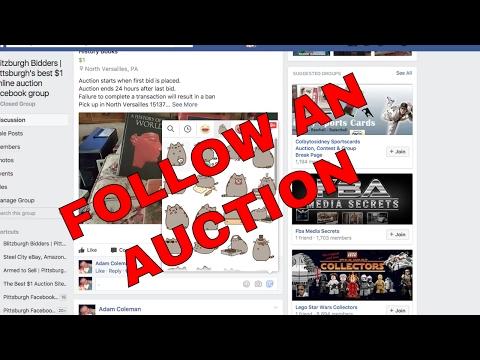 HOW TO FOLLOW AN AUCTION Blitzburgh Bidders | Pittsburgh's 24 hour dollar online auction