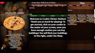 roblox cookie clicker #10 Umg zo veel cookies