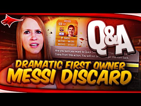 DRAMATIC FIRST OWNER MESSI DISCARD!!! - Q&A!!