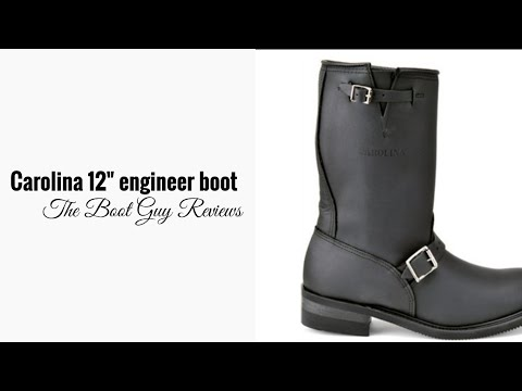"CAROLINA #902  12"" DOMESTIC ENGINEER BOOT [ The Boot Guy Review]"