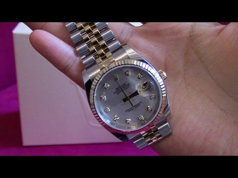 ROLEX OYSTER DATJUST 36MM WATCH OVERVIEW