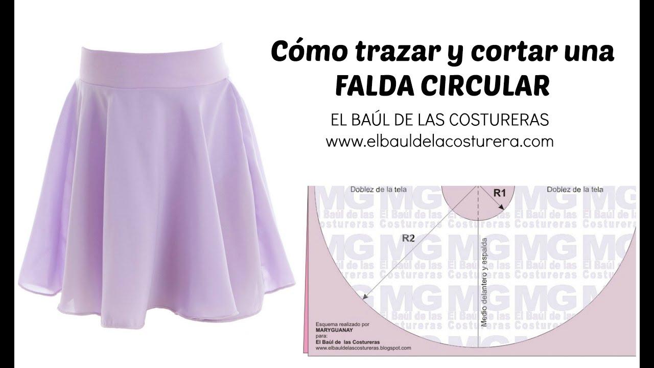 3382f5c59 Trazado de la Falda Circunferencia completa