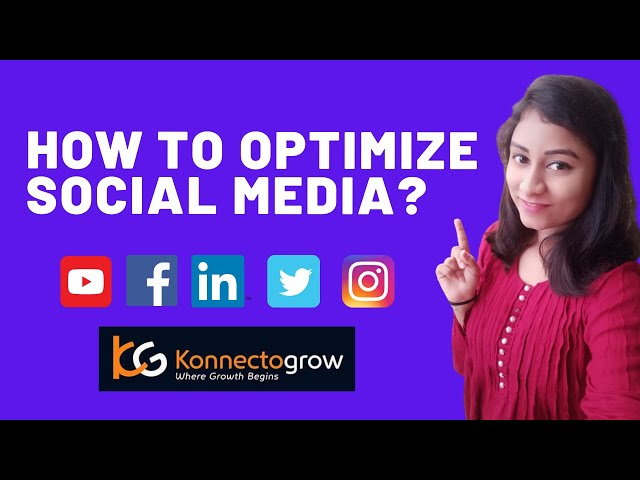 Driving Your Business using Social Media Optimization