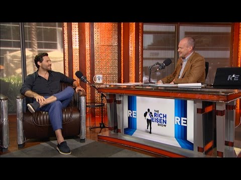 "Actor Edgar Ramirez of New Film ""Hands of Stone"" Joins The Rich Eisen Show in Studio - 7/13/16"