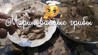 Рецепт Маринованных грибов вёшенка 🍄