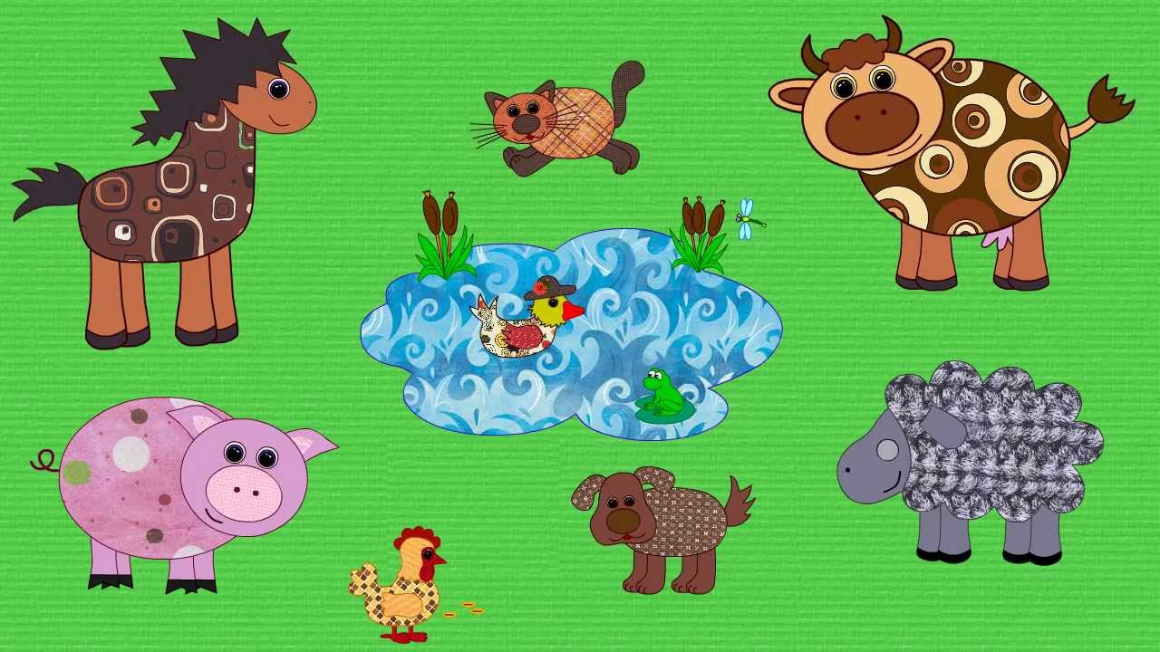 Farm Animals Song for Kids | English for Children - YouTube