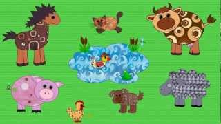 Farm Animals Song for Kids   English for Children