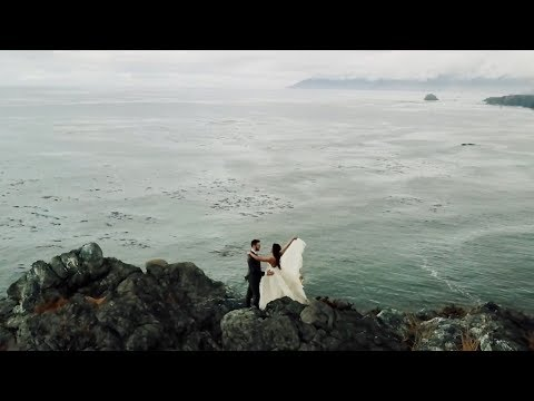 Adventurous Couple Elopement Wedding Video in Big Sur, California Hold back your tears