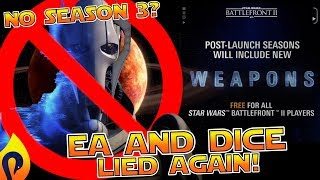 Star Wars Battlefront 2 - EA and DICE LIED TO YOU!