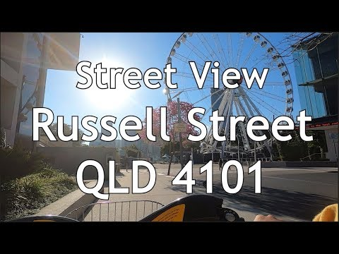 [Street View] Russell Street South Bank West End QLD 4101, Brisbane