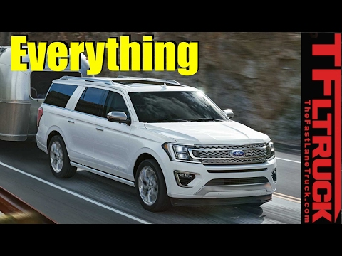 2018 Ford Expedition: More Power, Efficiency, Towing, and Bi
