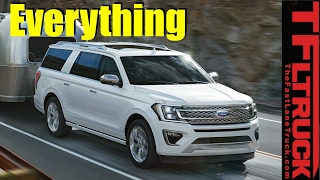 2018 Ford Expedition: More Power, Efficiency, Towing, and Bigger Interior