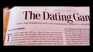 Behind REALITY TV-[MEDIA CLONES]-1992 TIME MAGAZINE a Dry Humorist Predictz