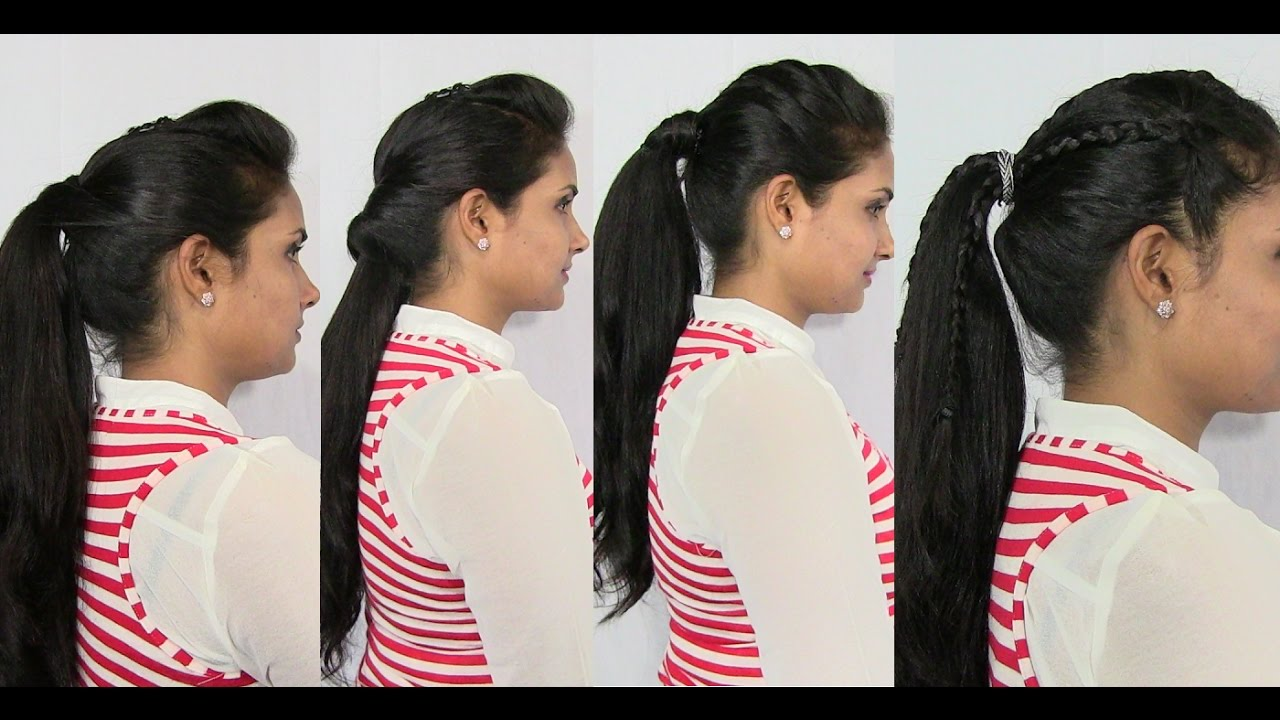 Different types of Ponytail Hairstyles for Short Medium and Long Hair YouTube