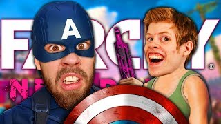 MATINBUM ÄR CAPTAIN AMERICA | Far Cry New Dawn med STAMSITE #2