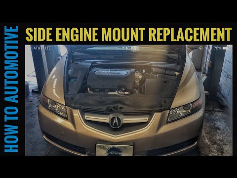 How to Replace the Side Engine Mount on a 2006 Acura TL