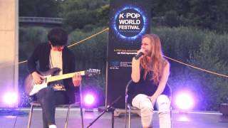 [K-Pop World Festival 2015 - Austria] Helena - Overdose, See Through (Special)