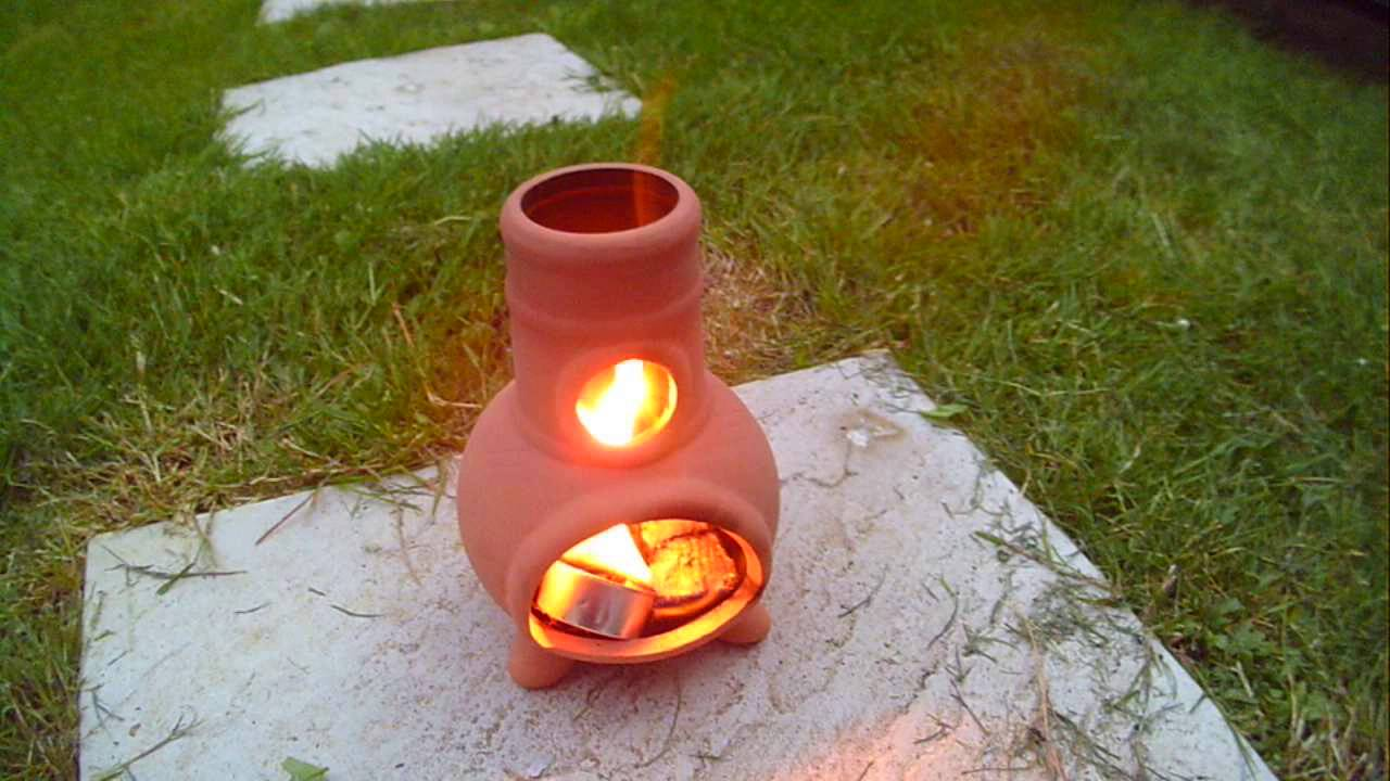 Action Man Sized Chiminea Tealight Burner With Flamer