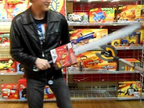 Nerf Weapons In Toys R Us Youtube