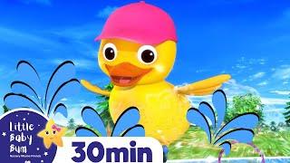 5 Little Ducks Songs & More ++ | Best Baby Songs | Kids Cartoon | Nursery Rhymes | Little Baby Bum