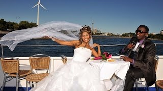 An African Iranian Wedding On Boat | Toronto Wedding Cruise To Centre Island
