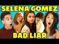 TEENS REACT TO SELENA GOMEZ BAD LIAR mp3