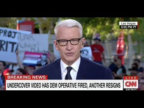 "Anderson Cooper Calls Project Veritas Action Videos ""Damning"""