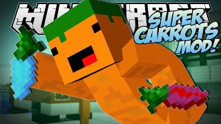 Minecraft | SUPER CARROTS MOD (Sir Carrot is BACK!!) | Mod Showcase