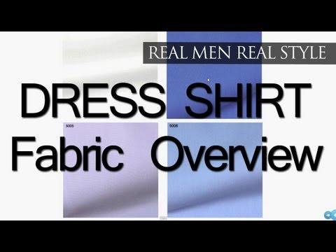 Mens Dress Shirt Fabrics - Solid Colored Shirts - Semi-Solid - Stripe - Check Shirt Fabrics & Weaves