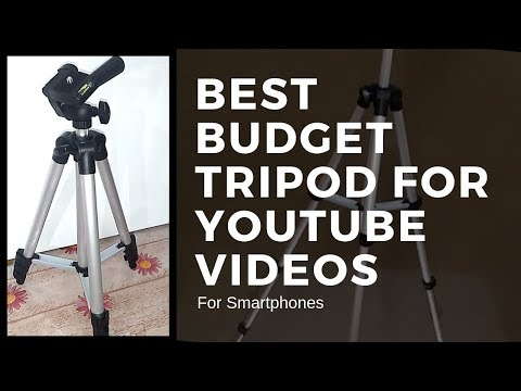 Cheap & Best Budget Tripod for Youtube Videos   Unboxing & Review   Beyond The Cages 🔥