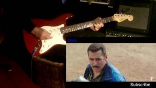 Jag Ghoomeya Movie Sultan Guitar Instrumental.
