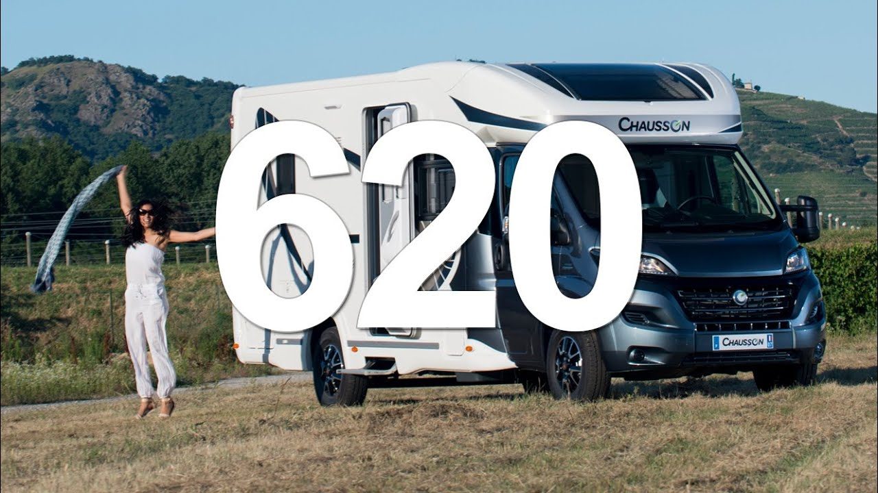 620 chausson camping cars 2016 youtube. Black Bedroom Furniture Sets. Home Design Ideas