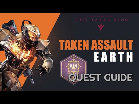 Taken Assault: Earth Quest in Destiny: The Taken King - How to find Champion and Curious Object
