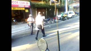 Acidente Fatal na Estrada da Cachoeira - Moto X Carro
