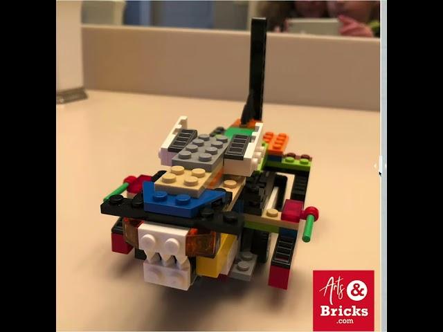 Kid Brick-Built Dragon turned into Kids Wall Decal