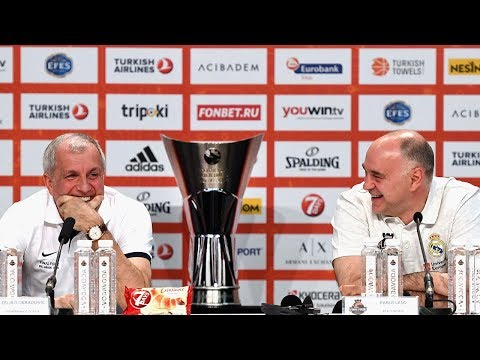Turkish Airlines EuroLeague Championship Game Press Conference