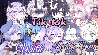#Tiktok || Tik tok cùng Teddy Team || Gacha life Vietnam || by Chijou