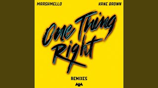 Play One Thing Right (feat. Kane Brown) (Duke & Jones Remix)