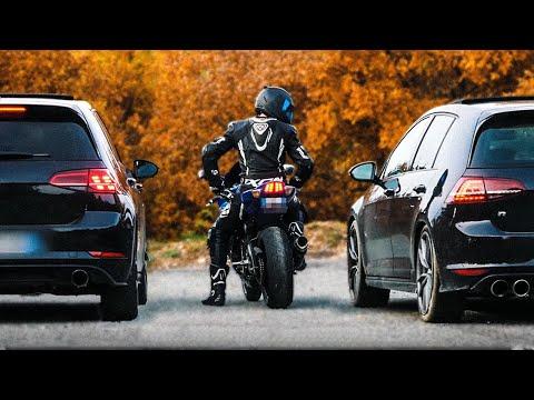 COURSE POURSUITE DES ENFERS... 🤯🔥 GSXR vs GOLF 7R x GTI (700 CHEVAUX)