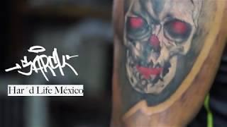 Sarck Har´d Life - Craneos Skull color and shade