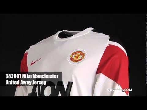 c0477da2349 Nike Manchester United Long Sleeve Away Jersey - YouTube