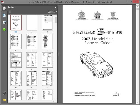Jaguar S-Type 2002 - Electrical Guide - Wiring Diagrams ...