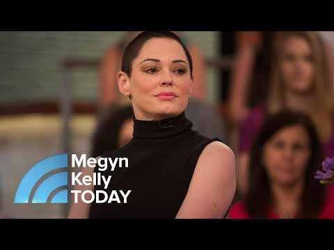Rose McGowan On Harvey Weinstein Arrest: 'I Didn't Believe This Day Would Come'  Megyn Kelly TODAY