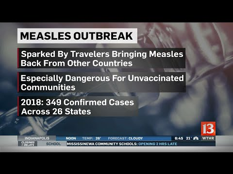 Measles on the rise